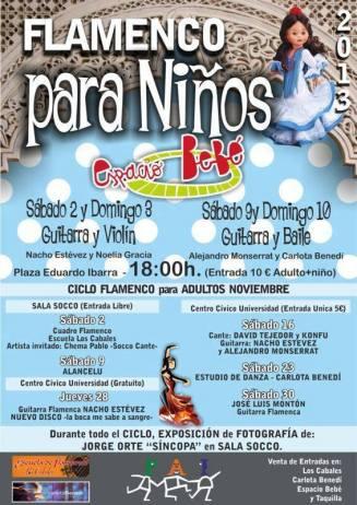 Flamenco para niños
