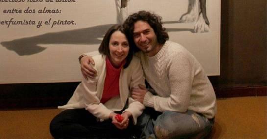 Isabel Guerrero con Radoslav