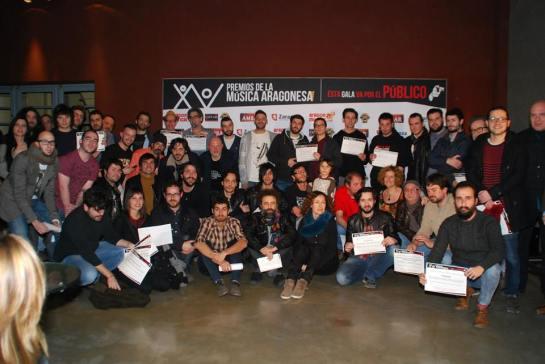 018. Nominados XV PMA