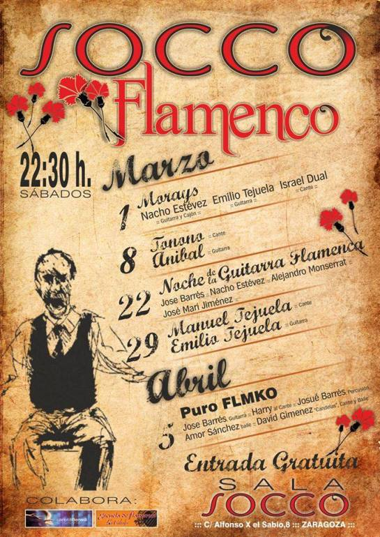 Socco flamenco