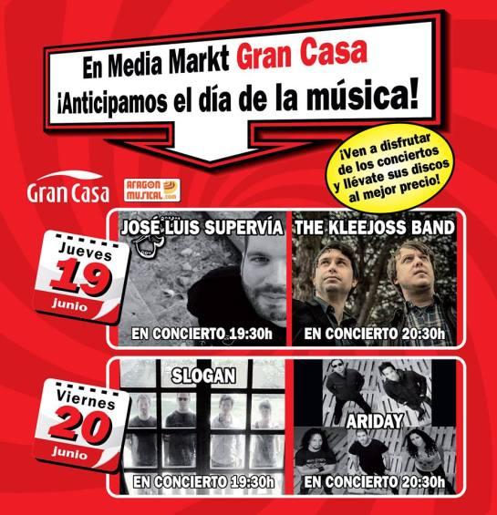 Día de la Música en media markt Zaragoza