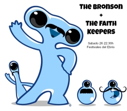 The Bronson y The Faith Keepers en el Anfiteatro de la Expo