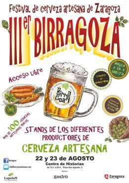 """III Festival de Cerveza Artesana de Zaragoza """"Birragoza"""""""