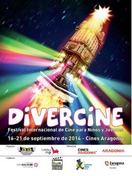 """LLega """"Divercine"""" a Zaragoza, Festival Internacional de Cine para Niños yJóvenes"""