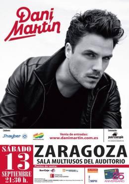 Dani Martín  presenta su disco homónimo enZaragoza