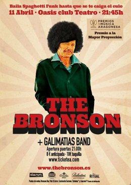 Baila Spaghetti Funk con The Bronson en Oasis ClubTeatro