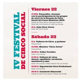 IV Festival de Circo Social deZaragoza