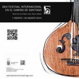 XXIV Festival Internacional en el Camino de Santiago2015