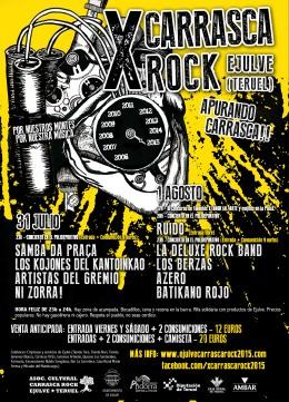 X Carrasca Rock, Ejulve(Teruel)