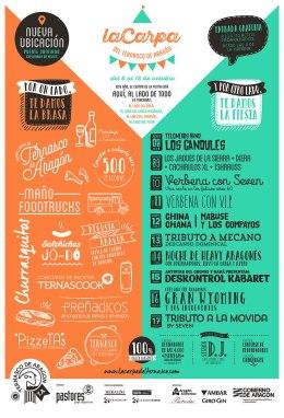 Programación La Carpa del ternasco Fiestas del Pilar2015