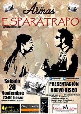 """Esparatrapo presenta su nuevo disco """"Calles de Cierzo"""" en LasArmas"""