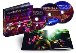 """Hoy se edita """"Hombres G En la Arena"""", DVD del concierto de  las Ventas del 26 de junio de2015"""