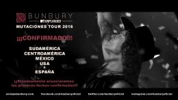 El Libro de las Mutaciones de Bunbury viene con nueva gira 'Mutaciones Tour2016'