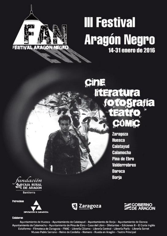 CartelFestivalAragonNegro