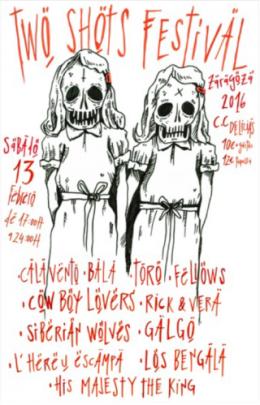 """""""Two Shots Festival"""", el festival de bandas de dos músicos, en el Centro CívicoDelicias"""