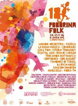 XVIII Poborina Folk, del 24 al 26 dejunio