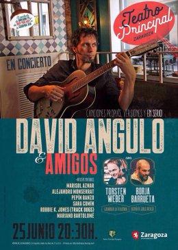 David Angulo & Amigos en el Teatro Principal deZaragoza