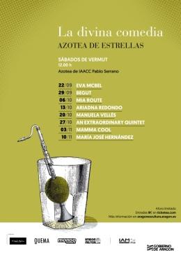 Ciclo de conciertos de otoño La Divina Comedia. Azotea deEstrellas